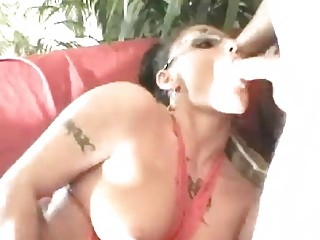 horny german milf dressing on shoot