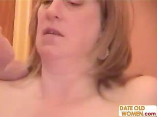 plump grandmother goes wild