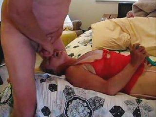 stolen video. horny woman and dad having pleasure