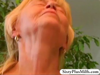 elderly annie enjoys a super fresh libido