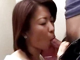 japanese woman caught boy masturbating into