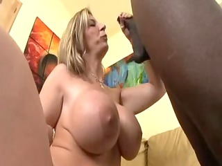 woman sara jay gets banged and a hot facial by a