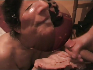enormously awesome french lady - amazing facial