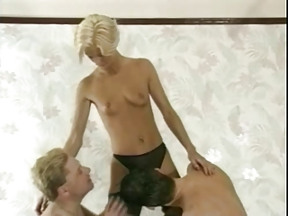 sharing blond wife with friends-1